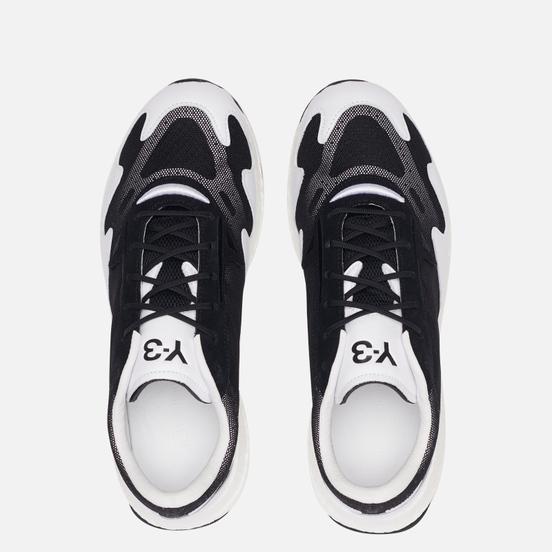 Мужские кроссовки Y-3 Rhisu Run Black/Black/White