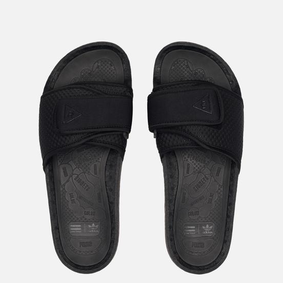 Сланцы adidas Originals x Pharrell Williams Boost Slide Core Black/Core Black/Core Black