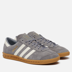 Кроссовки adidas Originals Hamburg Grey/Off White/Gum