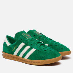 Кроссовки adidas Originals Hamburg Sub Green/Off White/Gum