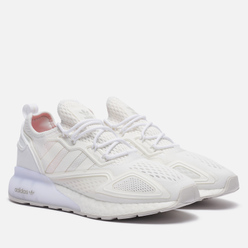 Кроссовки adidas Originals ZX 2K Boost White/White/Grey One