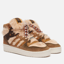 Кроссовки adidas Originals x Star Wars Rivalry Hi Chewbacca Raw Desert/Mesa/Chalk White