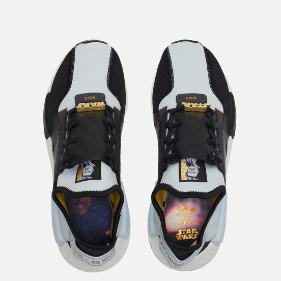 Кроссовки adidas Originals x Star Wars NMD R1 V2 Sky Tint/Core Black/Gold Metallic