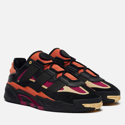Кроссовки adidas Originals Niteball Core Black/Power Berry/Orange Tint