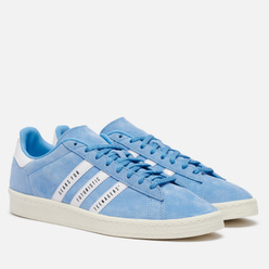 Кроссовки adidas Originals x Human Made Campus Light Blue/White/Off White