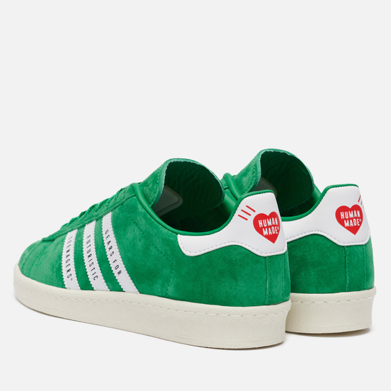 Кроссовки adidas Originals x Human Made Campus Green/White/Off White