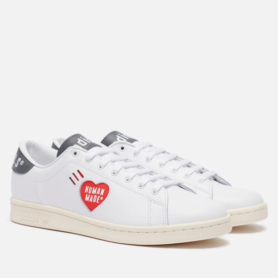 Мужские кроссовки adidas Originals x Human Made Stan Smith Off White/White/Grey