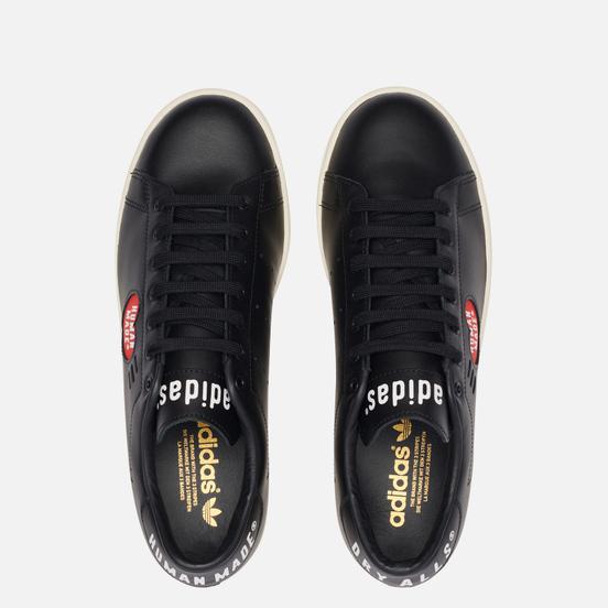 Мужские кроссовки adidas Originals x Human Made Stan Smith Core Black/White/Off White