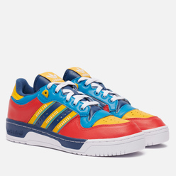 Кроссовки adidas Originals x Human Made Rivalry Night Marine/White/Bold Aqua