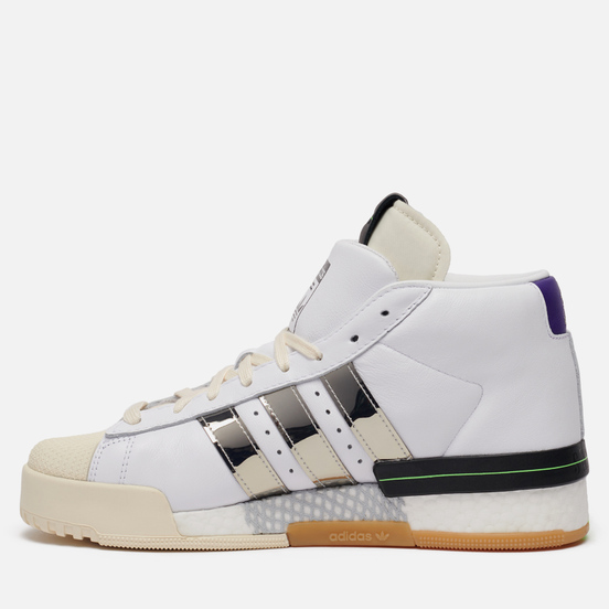 Кроссовки adidas Originals x Sankuanz Rivalry Promodel White/Silver Metallic/Gum