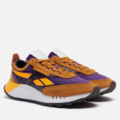 Кроссовки Reebok Classic Leather Legacy Rich Ochre/Regal Purple/Midnight Shadow