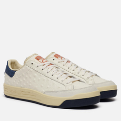 Мужские кроссовки adidas Consortium Rod Laver Ostrich Deboss Leather Core White/Core White/Collegiate Navy
