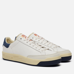 Мужские кроссовки adidas Consortium Rod Laver Cracked Leather Core White/Core White/Collegiate Navy