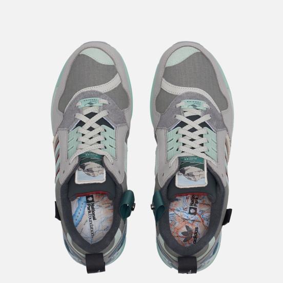 Мужские кроссовки adidas Originals x National Park ZX 9000 Cgrani/Dshgrn/Chsogr
