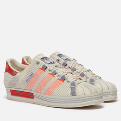 Кроссовки adidas Originals x Craig Green Superstar Off White/Bright Red/Grey Three