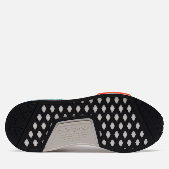 Кроссовки adidas Originals NMD_R1 Core Black/Silver Metallic/Solar Red