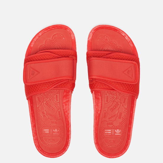 Сланцы adidas Originals x Pharrell Williams Boost Slide Active Red/Active Red/Active Red
