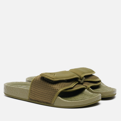 Сланцы adidas Originals x Pharrell Williams Boost Slide Olive Cargo/Olive Cargo/Olive Cargo