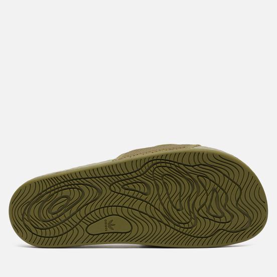 Сланцы adidas Originals x Pharrell Williams Boost Slide Olive Cargo/Olive Cargo/Olive Cargo