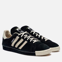 Мужские кроссовки adidas Consortium x Recouture Campus 80s SH Core Black/Chalk White/Dark Blue
