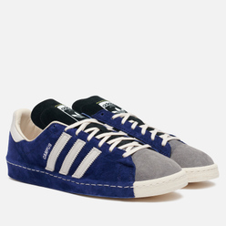 Мужские кроссовки adidas Consortium x Recouture Campus 80s SH Dark Blue/Chalk White/Core Black