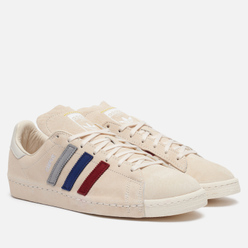 Мужские кроссовки adidas Consortium x Recouture Campus 80s SH Chalk White/Dark Blue/Core Black