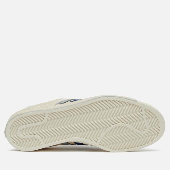 Мужские кроссовки adidas Consortium x Recouture Campus 80s SH Chalk White/Dark Blue/Core Black