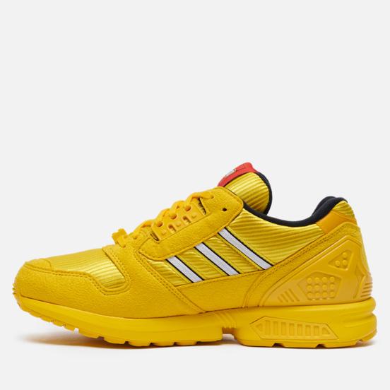 Мужские кроссовки adidas Originals x LEGO ZX 8000 Equipment Yellow/White/Equipment Yellow