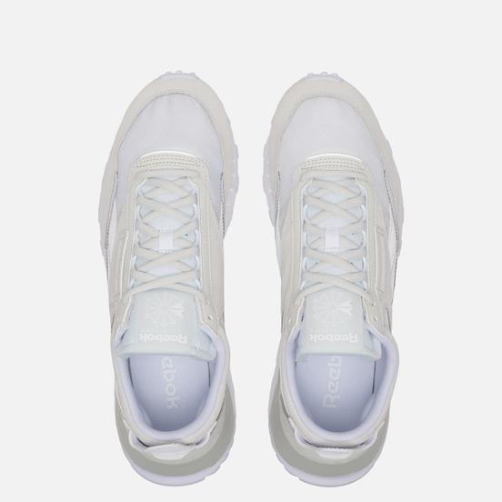Кроссовки Reebok Classic Leather Legacy White/True Grey/Skull Grey