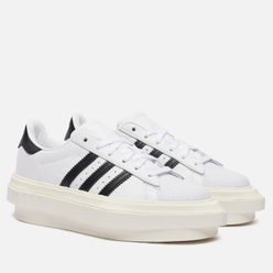 Женские кроссовки adidas Originals x Beyonce Superstar Platform White/Core Black/Off White
