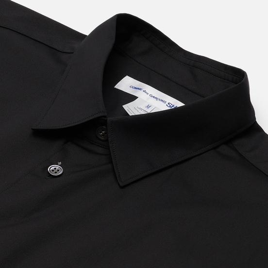 Мужская рубашка Comme des Garcons SHIRT Forever Wide Сlassic Cotton Poplin Black