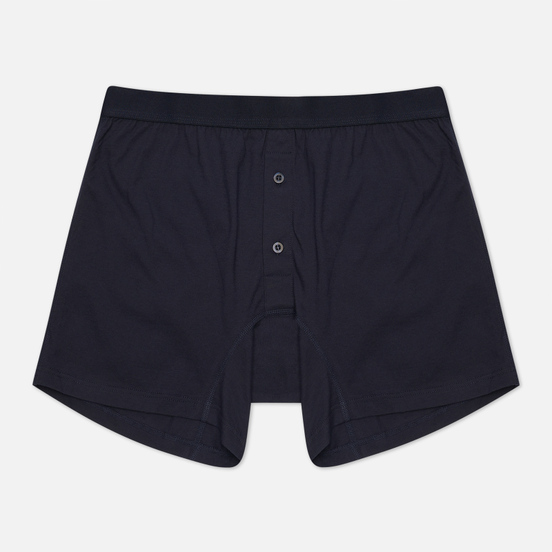 Мужские трусы Comme des Garcons SHIRT Forever Two Button Boxer Navy