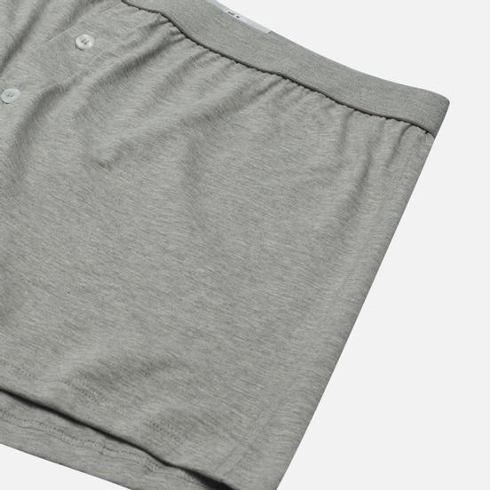 Мужские трусы Comme des Garcons SHIRT Forever Two Button Boxer Grey