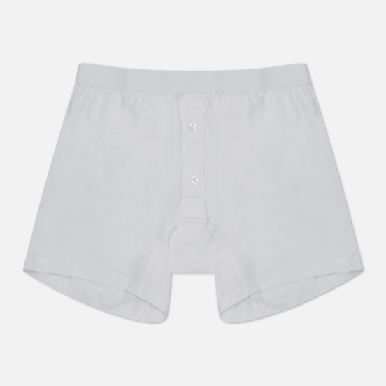 Мужские трусы Comme des Garcons SHIRT Forever Two Button Boxer White