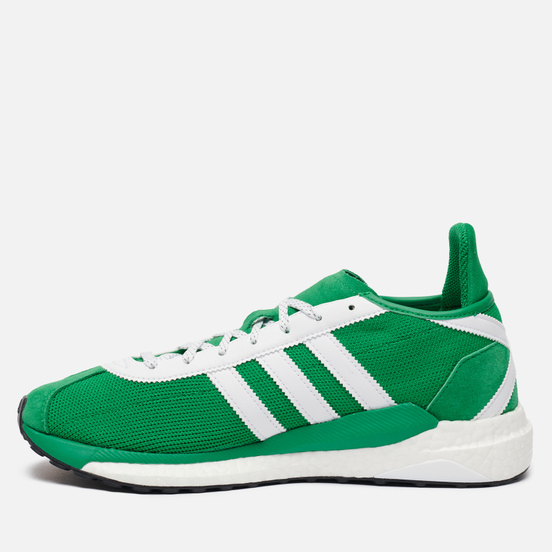 Мужские кроссовки adidas Originals x Human Made Tokio Solar Green/White/Green