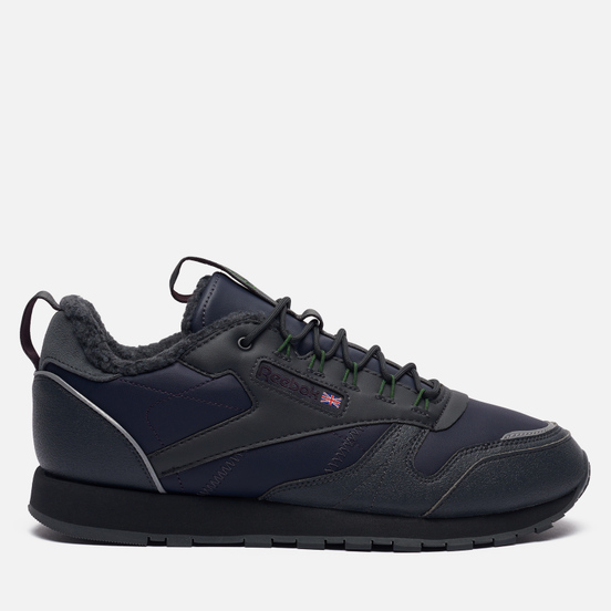 Мужские кроссовки Reebok Classic Leather MU Power Navy/Cold Grey/True Grey