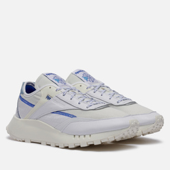 Кроссовки Reebok Classic Leather Legacy Pure White/Chalk/Court Blue