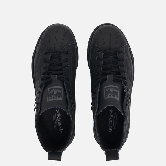 Женские ботинки adidas Originals Superstar Core Black/Core Black/Grey Five