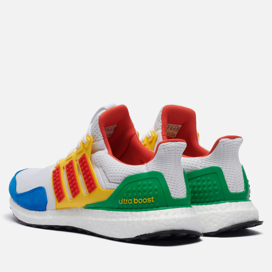 Кроссовки adidas Performance x LEGO Ultra Boost DNA Cloud White/Red/Shock Blue