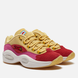 Кроссовки Reebok x Billionaire Boys Club Ice Cream Question Low Yellow/Red/Ultra