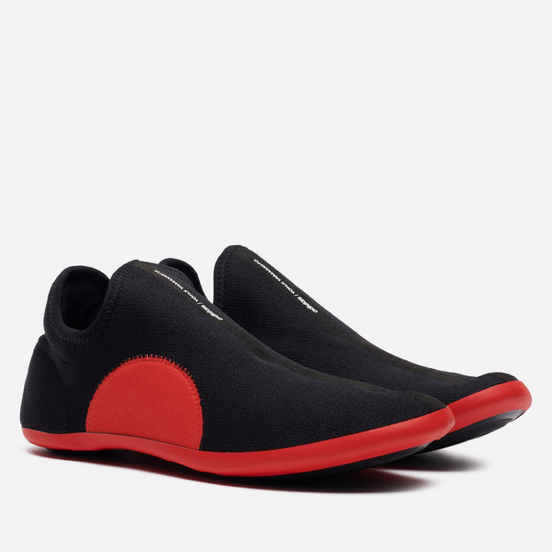 Мужские кроссовки Y-3 Runner 4D IO Clear Brown/Black/Red