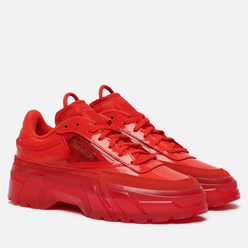 Женские кроссовки Reebok x Cardi B Club C Instinct Red/Instinct Red/Clear