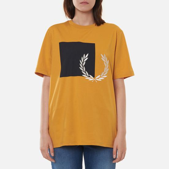 Женская футболка Fred Perry Printed Graphic Sweetcorn
