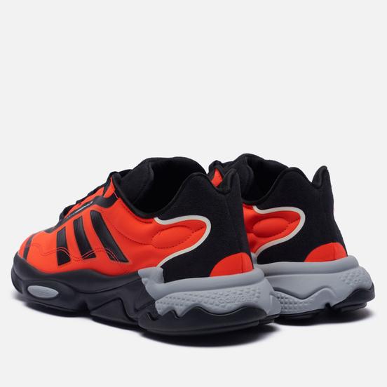 Кроссовки adidas Originals Ozweego Pure Core Black/Solar Red/Grey Two