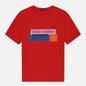 Женская футболка Fred Perry Colour Block Graphic Print Cherry Bomb фото - 0