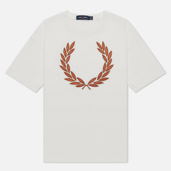 Женская футболка Fred Perry Laurel Wreath Snow White