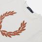 Женская футболка Fred Perry Laurel Wreath Snow White фото - 1