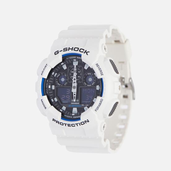 Наручные часы CASIO G-SHOCK GA-100B-7A White/Navy/Black