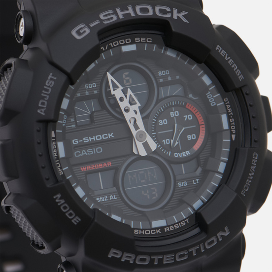 Наручные часы CASIO G-SHOCK GA-140-1A1ER Black/Black
