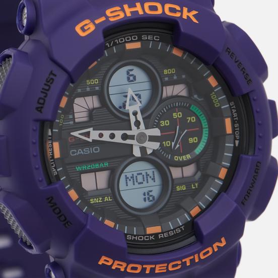 Наручные часы CASIO G-SHOCK GA-140-6AER Purple/Black